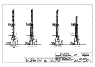RR-GA100-006-02-RA Model —  Telescoping Mast